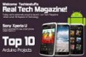 Tech Magazine Front Cover  – Free PSD