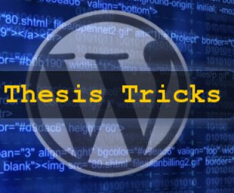 How to Set Image as Featured Thumbnail in Thesis WordPress Theme