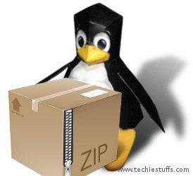 How Zip and Unzip Files via Commandline in Linux