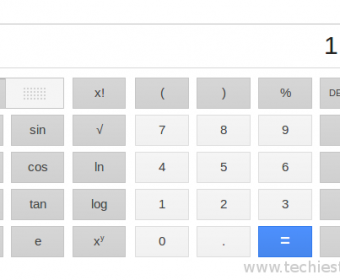 Google's new Features: GUI calculator and converter