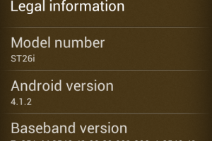 Now you can update your Sony Xperia J to Android Jelly Bean