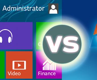 Windows 8 vs. Windows 7 For Business