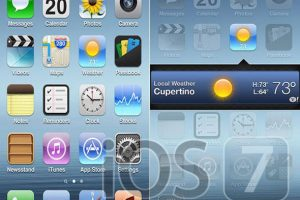 Rumor: iOS 7 Design Concepts