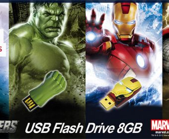 10 Uniquely Designed USB Flash Drives for Comic Fans and Tech Geeks