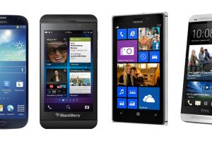 Top SmartPhones of 2013 : Galaxy S4 vs Xperia Z vs Lumia 925 vs HTC one vs Blackberry Z10