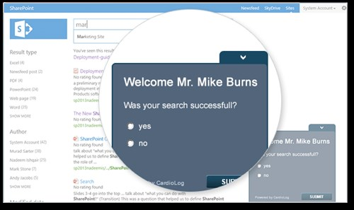 sharepoint behavioral targeting