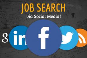 [Infographic] Job Hunting via Social Media