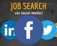 job search via social media