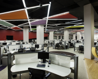 Workplace Automation at Modern IT Company Offices