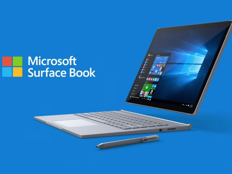 The Microsoft Surface Book
