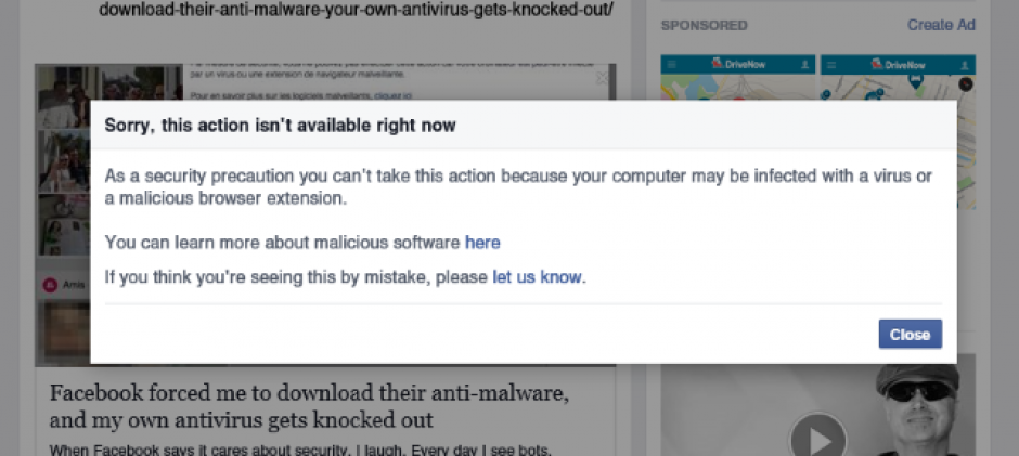 How To Wipe Out Facebook Malware