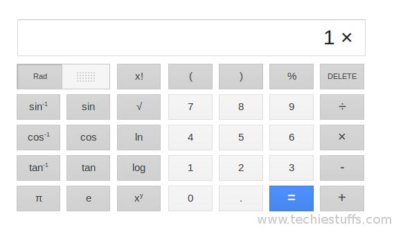 google-calculator
