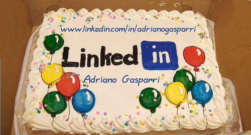 linked-in-cake