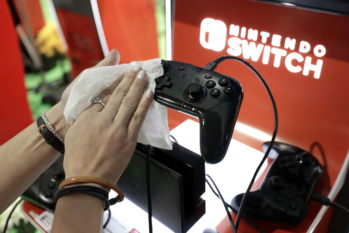 Disinfect a Game Console from Outside