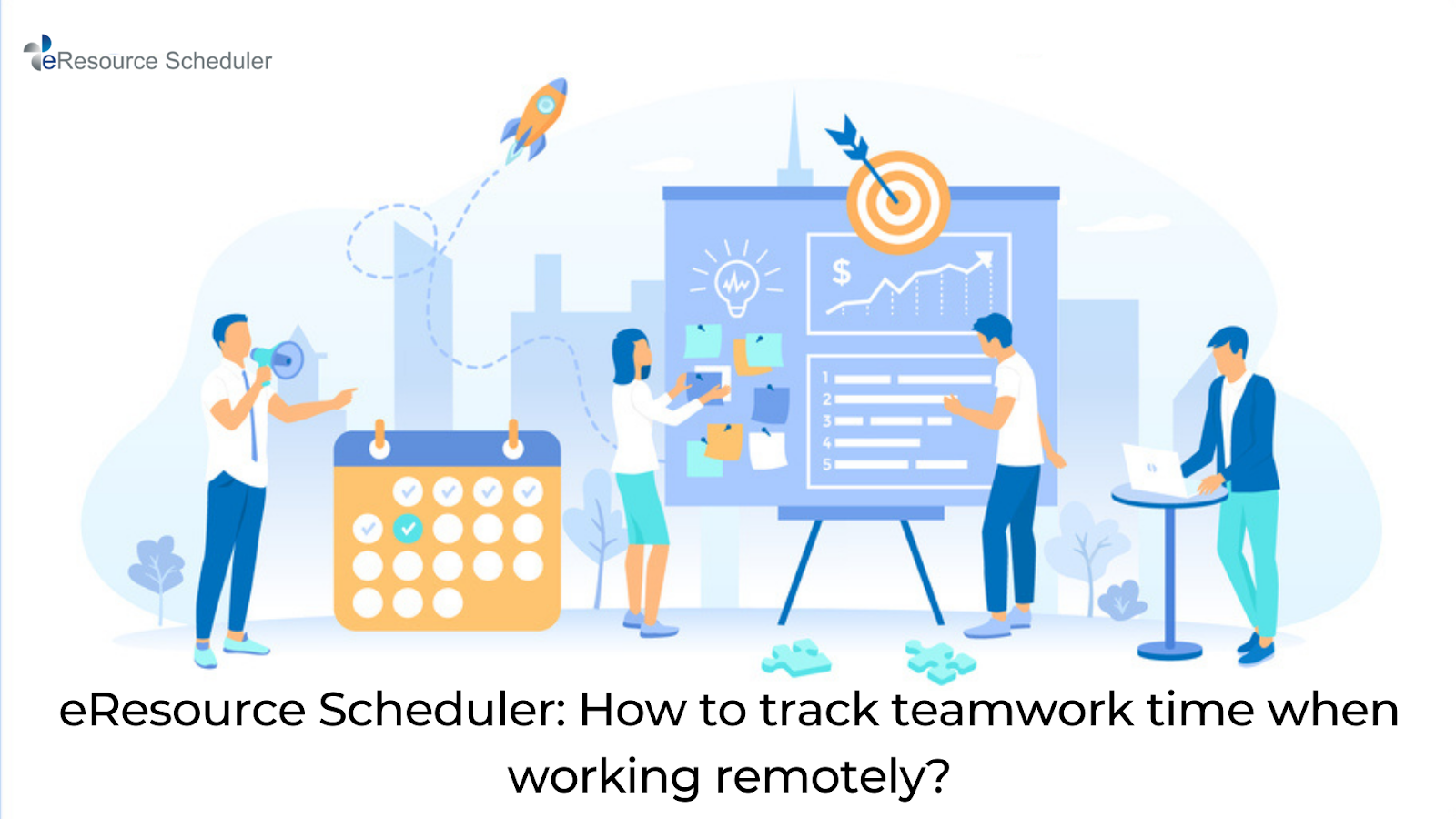eResource Scheduler has the best teamwork time tracking tools that will help you to efficiently track and manage the workload in a balanced way across your team.