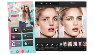 Overview of the YouCam Perfect Editing App